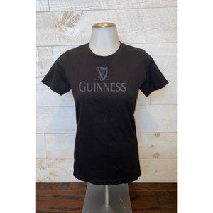 Women's Guinness Black Fitted T-Shirt
